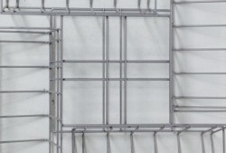 Wire 4 tray display stand