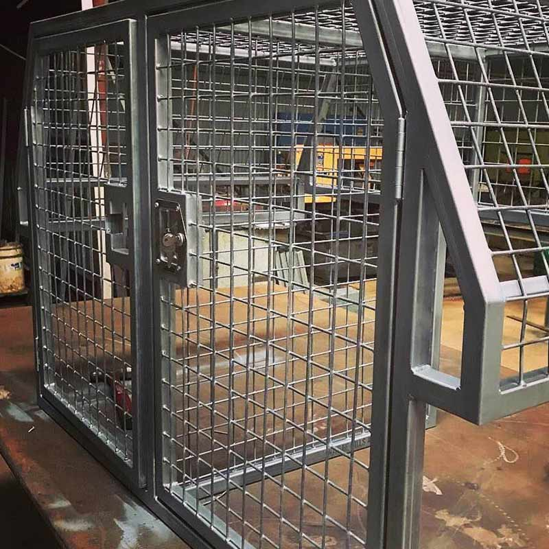 Secure cage